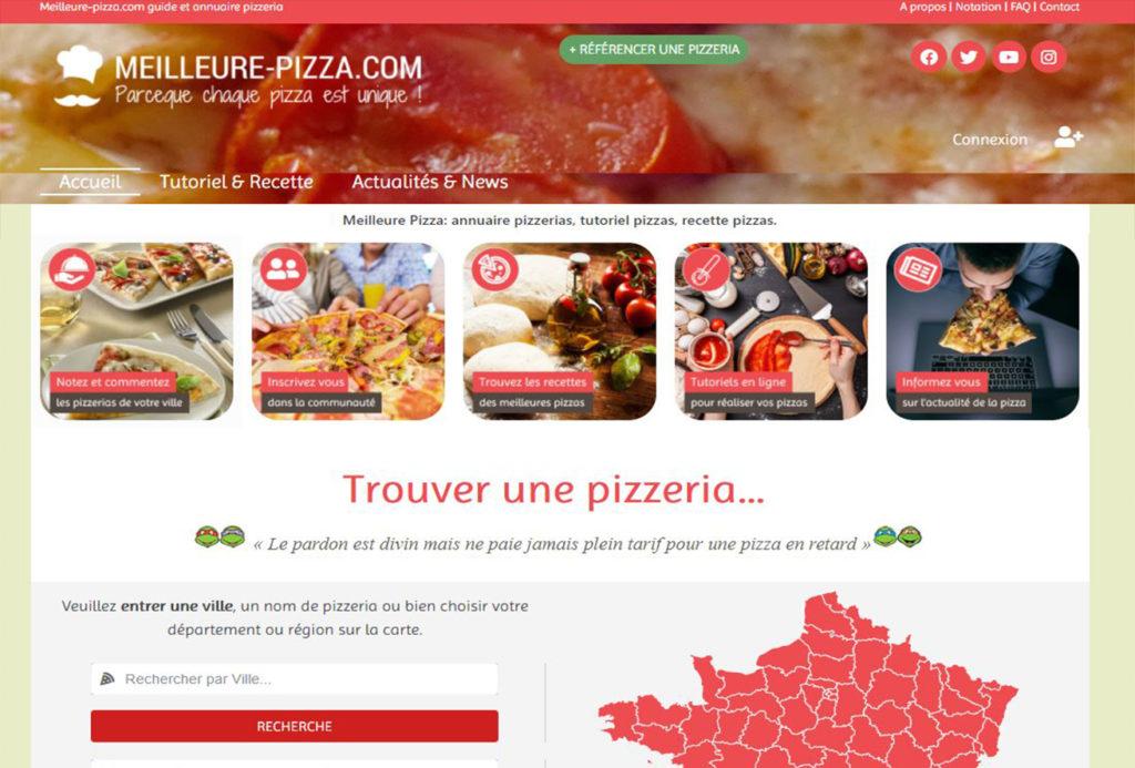site meilleure pizza